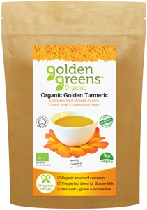 buy Organic Golden Turmeric powder with ginger and piperine